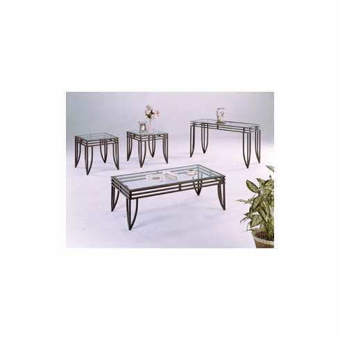 Matrix coffee & end table set
