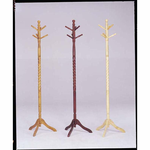 Wooden Hall tree (2pcs)