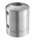 12mm in-line Round Bar Holder for Square Newel