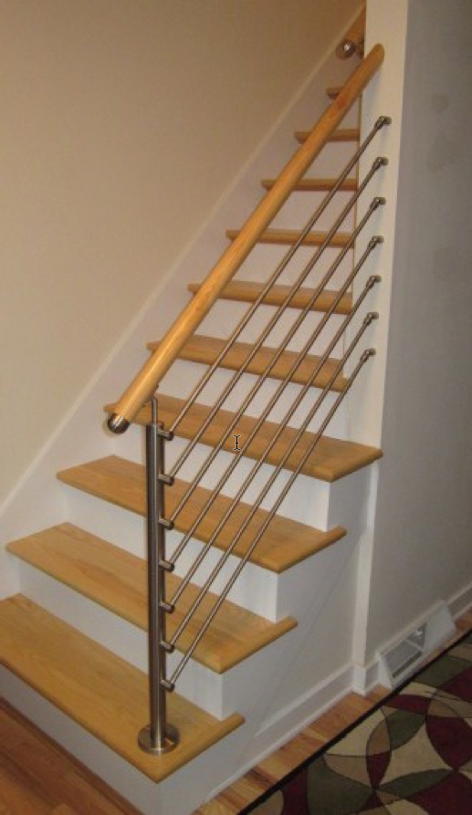 how to build a railing bar and attach it