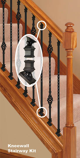 Metal Baluster Knee Wall Install Kit Only 7 65