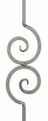 Solid - Nautilus Scroll Baluster