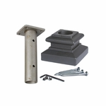 Round Newel Mount Kit for 1-3/16""
