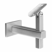 Square Wall Rail Bracket for Round Handrail