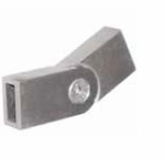 Stainless Flat Bar Pivot Connector