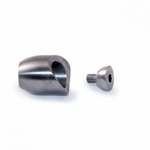 Stainless Round Bar Holder - Pitch