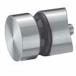 Stainless Standoff Glass Clamp - 3/8""