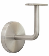 Stainless  Wall Rail Support - for Flat Bottom Handrail
