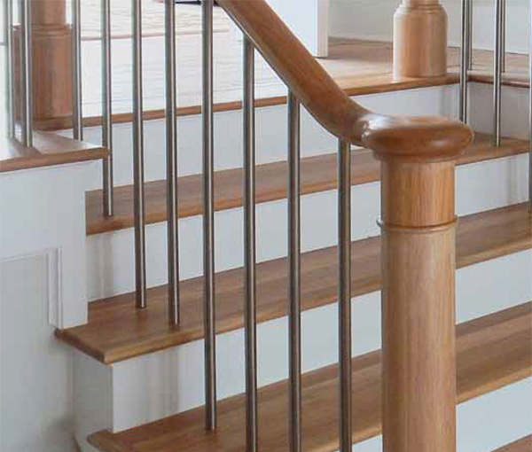 Stainless Straight Baluster 5 8 Quot Round Only 14 95