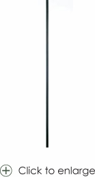 """Solid - Straight Baluster, 1/2""""sq. Baluster"""