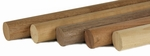 "Wood Round Handrail - 1.78"" dia. For Stainless Fittings"