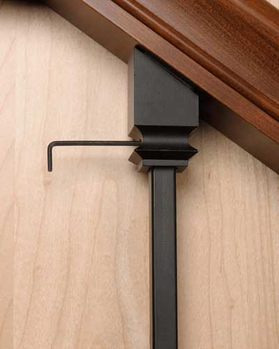 Zip Clip Iron Baluster Installation Kit Only 5 45