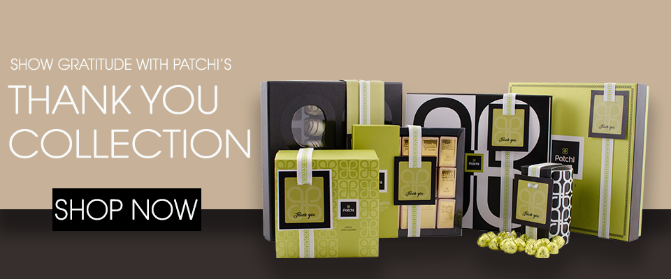 Patchi Thank You Gifts