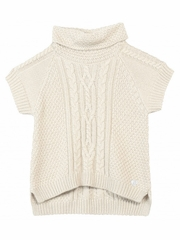 3 Pommes Coffee House Sable Pull Over Sweater