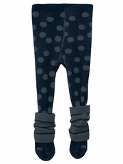3 Pommes Navy Collant Tights
