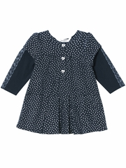 FLASH SALE: 3 Pommes Navy Dress