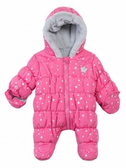 FLASH SALE: 3 Pommes Sweet Girl Pink w/ Stars Coverall