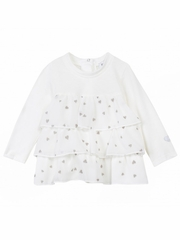 3 Pommes Sweet Love Ruffle Shirt