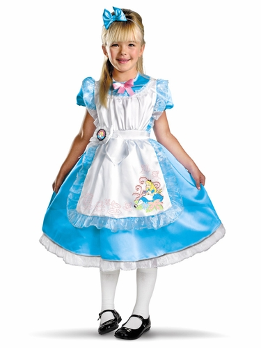 Alice Deluxe Kids Costume