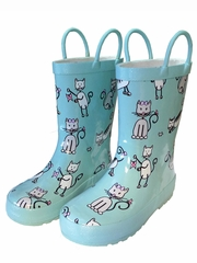 Angel Kitten Rain Boots