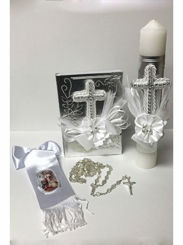Angels Garments SFC7701 Girl's First Holy Communion Gift Set