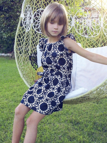Anthem of the Ants Ahoy Print Ciao Summer Sundress