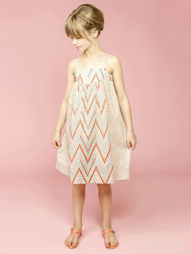 Anthem of the Ants Ombré Arrow Sand Dress