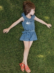 FLASH SALE: Anthem of the Ants We Love Dotty Croquet Romper