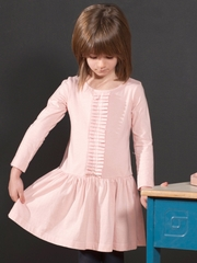 FLASH SALE: Anthem of the Ants Whisper Pink Pleated Recital Dress