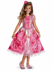 Aurora Sparkly Deluxe Girls Costume