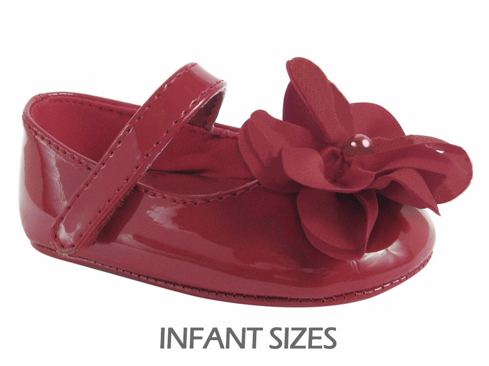 Baby Deer Red Crawling Stage First Step Shoe w