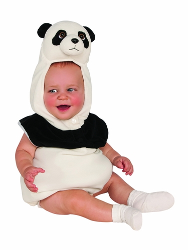 Baby Panda Black and White Infant Costume