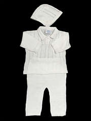 Baby's Trousseau 3 Piece Knit Set