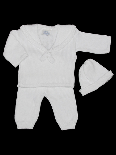 Baby's Trousseau Boys 3PC Sailor Sweater Set