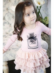 Baby Sara Miss Posh Pink Drop Waist Dress
