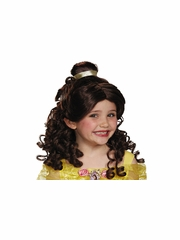 Beauty & The Beast Belle Child Wig