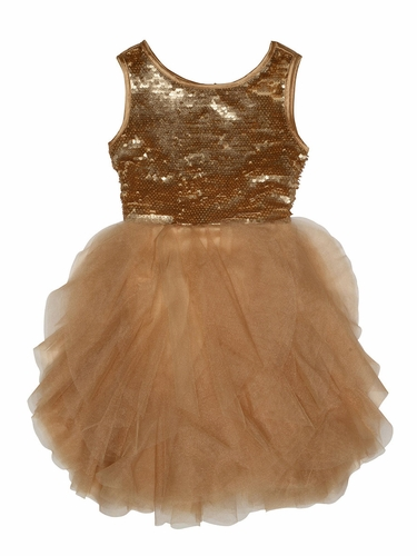 Biscotti Gold Grand Entrance Dress