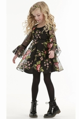 Biscotti Midnight Garden Dress