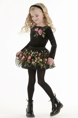 Biscotti Midnight Garden Skirt Set