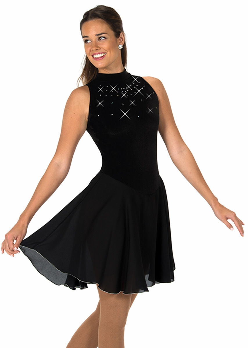 Jerry S 137 Black Crystal Dance Dress