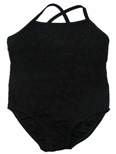 Black Lace Leotard
