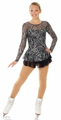 Mondor Black Sparkling Skating Dress