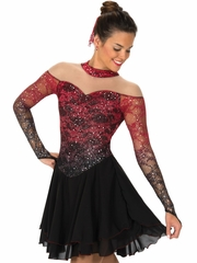 Jerrys 132 Black / Red Torch & Tango Dress