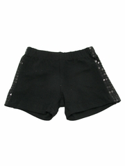 Black Sequin Shorts