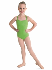 Bloch Apple Green Double Crossback Leotard
