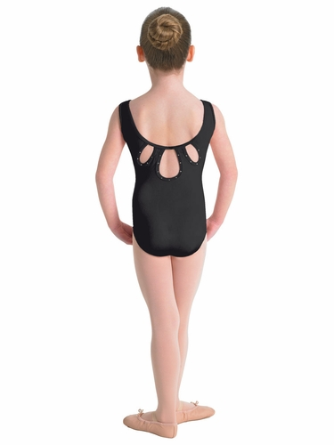 Bloch Black Keyhole Tank Leotard