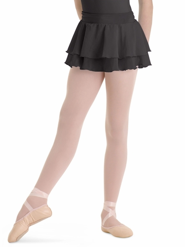 Bloch Black Summer Layered Skirt