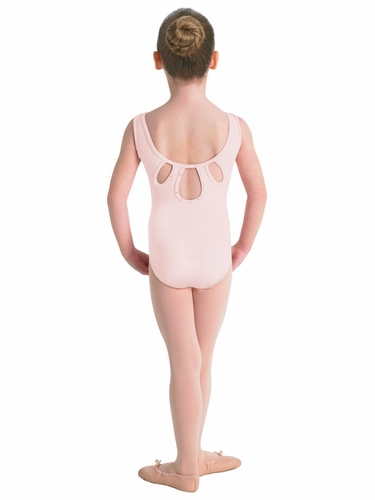 Bloch Candy Pink Keyhole Tank Leotard