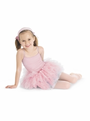 CLEARANCE - Bloch Light Pink Glacier Tutu Leotard