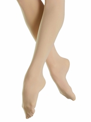 Bloch Light Tan Endura Footed Tights